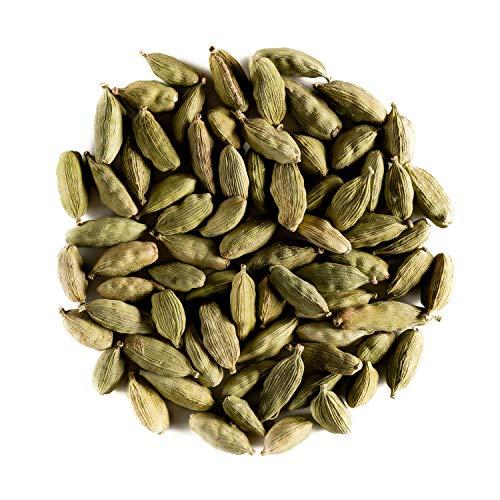 Cardamome Gousses Bio Epice Tisane - Parfum résineux arômes intenses - cardamome verte ou cardamome aromatique - L. Elettaria cardamomum 100g
