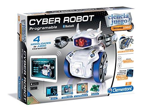 51zoXE3OFtL - Clementoni Cyber Robot (55124.8) - versión española