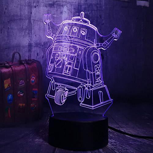 Luz De Noche 3D Battle Royale Game Pubg Tps Herramientas Prop Machine Led Night Night Lámpara de Escritorio Kid Toy Regalo de Navidad