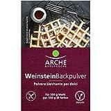 Cremor tartaro biologico 3x18g Arche - Polvere lievitante per dolci a base di cremortartaro - Cremor tartaro senza glutine - Cremor tartaro alimentare - 54g