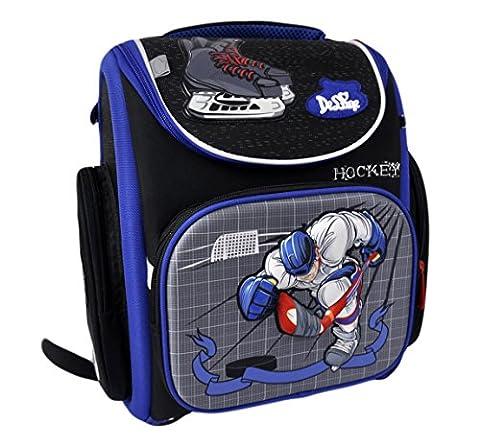 DELUNE Premium Hockey 3–134Sac à dos scolaire Sac à dos pour enfant garçon poches sac à dos