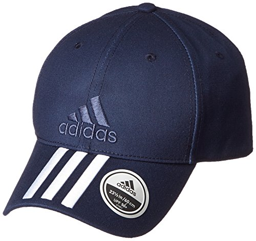 adidas Six-Panel Classic 3-Stripes Mütze, Collegiate Navy/White, OSFL