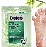 Balea - Calzini per rimuovere calli Feel Well, 1 paio (1 x 2 pezzi)