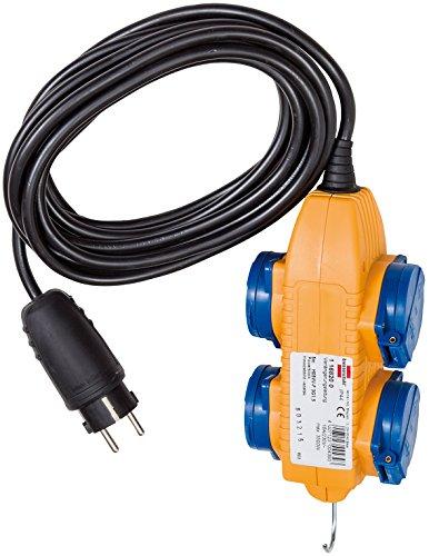 Brennenstuhl konstruktion IP 44 Kabel med Power Block 5m