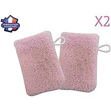 MODULIT: Lot de 2 petits gants de toilette d'apprentissage pour bébé/enfant