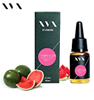 XVX E Liquid  Watermelon VG Flavour  Electronic Liquid For E Cigarette  Electronic Shisha Liquid  10ml Bottle  Needle Tip  Precision Pouring  Choose Your Lifestyle  New For 2016  Digital Smoke  Nicotine Free  Tobacco Free