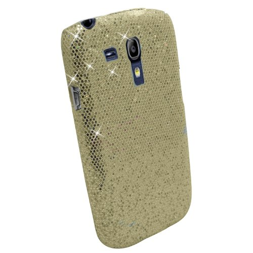 Xtra-Funky Custodia Glitter per Samsung Galaxy S3 mini i8190  - oro