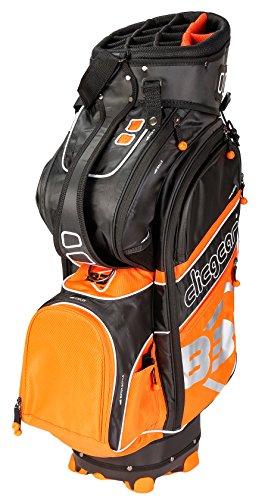 Clicgear B3Cartbag Schwarz One Size Orange (Teiler Golf Bag)