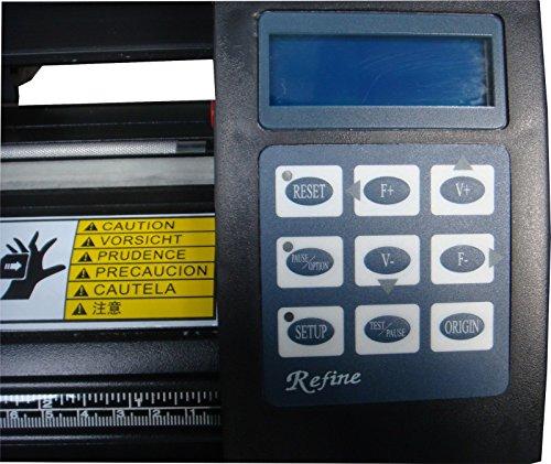 Profi Schneideplotter v REFINE EH 721 LCD USB,ArtCut 2009 DE NEU jetzt inkl USB Win 10