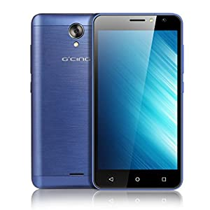 Unlocked Smartphones, G one 4G Android 7.0 Mobile Phones 5.0 inch Screen Cell Phones 1.3 GHz Dual Sim Card 1GB RAM+8GB ROM 5MP Cameras 2200mAh Battery (Blue)