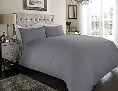 Sapphire collection 100% Egyptian Cotton 200 Thread Count Duvet Cover With Pillow Case Bedding Set All Size - inexpensive UK light store.