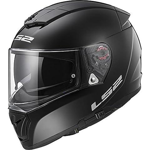 103901012XXS - LS2 FF390 Breaker Solid Motorcycle Helmet XXS Black