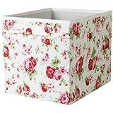 Caja de Almacenaje Drona de Ikea, Diseño Rosali (Conjunto de Cuatro) - Encaja en Estantería Expedit