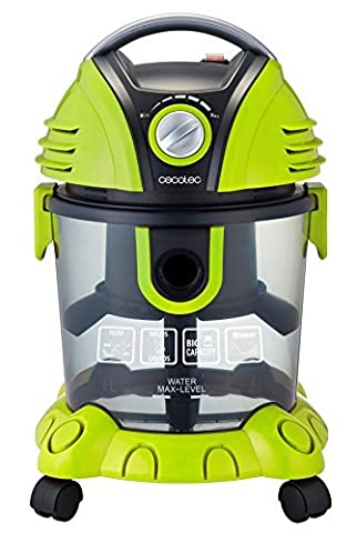 Vacuum cleaner of solid y liquids Wet & Dry of Cecotec. 1400 W. filter HEPA y filter of water Regulator of power. Function blower. Capacity 15 l.
