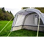 OLPRO Outdoor Leisure Products Cocoon Extension 3.5m x 1.8m Inflatable Drive Away Campervan Awning Porch Extension for Cocoon Breeze Sage Green & Chalk 12