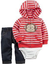 Carter's Baby Boys / Toddlers '3 PIECE Chaqueta / Pantalones / Conjunto de Body