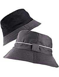 d157567c862 Premium Reversible Bucket Bush Hat 2 Tone Boonie Sun Unisex Mens Womens in  Multiple Colours