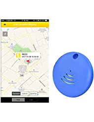 Bluetooth Waterproof IPX7 key finder, phone finder,anything finder - 1 pack (blue)