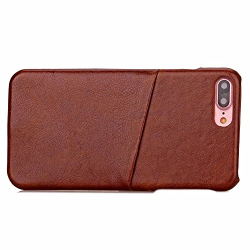 iPhone Case Cover Housse IPhone 7 Plus Housse Pour Affaires PC + Housse En Cuir Avec Slot Pour Carte Pour Apple IPhone 7 Plus 5.5 Pouces ( Color : 5 , Size : IPhone 7 Plus ) 4