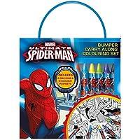 Anker spbca2Ultimate Spiderman Bumper llevar a lo largo de colorear Set