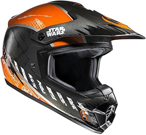 Hjc cs-mxii Star Wars Rebel X-Wing MX SX casco nero