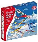 Quercetti 3599 World Of Flight Aerei e Missilotti per Divertirsi all'Aperto