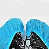 100PCS Heavy Duty Einweg-Überschuhe Langlebig wiederverwendbar Schuhüberzieher für Schuhe und Stiefel zu schützen Teppiche und Böden (hzc26)
