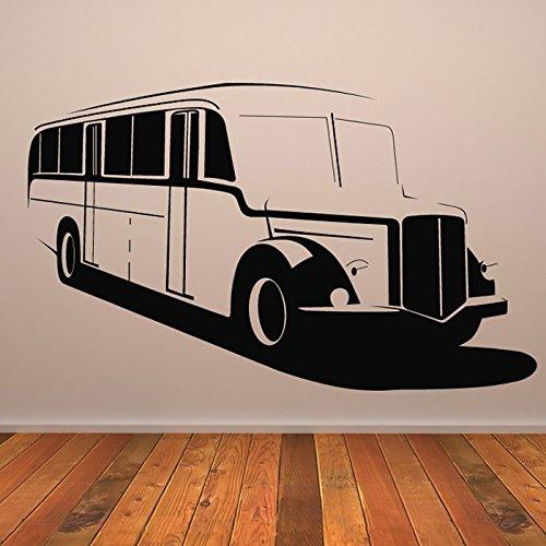 School Bus Bus Vintage Car Van Wall