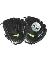 Bronx catch conjunto/guante conjunto with ball/white,10 inch negro/blanco unisex infantil