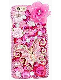 Spritech (TM) 3d Bling Diseño de diamantes de imitación carcasa rígida para iPhone 6de 4,7, Style-11, iPhone 6 4,7