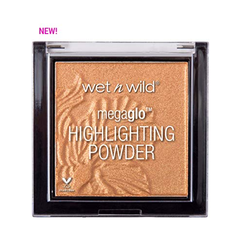 Schimmer-highlighting Powder ((3 Pack) WET N WILD MegaGlo Highlighting Powder - Awesome Blossom)
