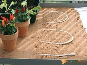 Câble chauffant de 100W pour serre de jardin 10m