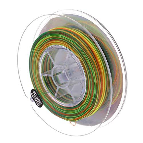 perfeclan Super Cut Water Nylon Angelschnur Monofil Mixcolor Tournament Schnur - Durchmesser 0,35 mm