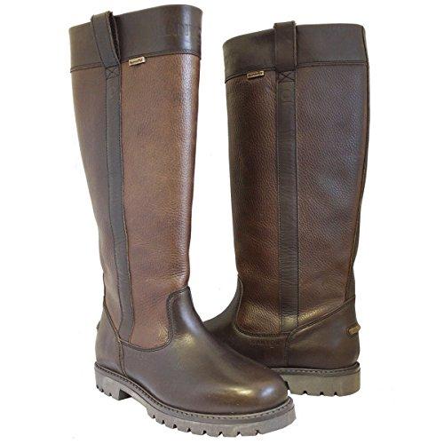 Kanyon Aspen Stiefel–Damen Komfort Wasserdicht Equestrian Leder Lang Country, - Pferd Body Protector