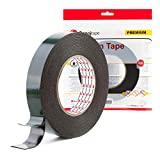Sanojtape Ultra Strong Black Double Sided Tape 25mm x 10m | Perfect Permanent