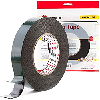 Quality Double Sided Tape 12mm x 10M Car Van Number Licence Plate Fitting