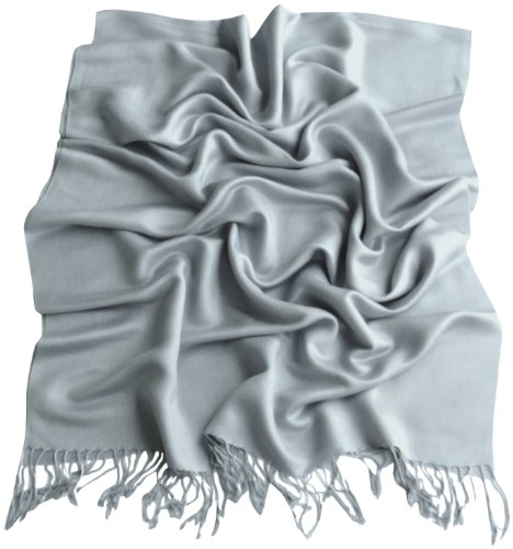 blue-grey-solid-colour-design-shawl-pashmina-scarf-wrap-stole-cj-apparel-new