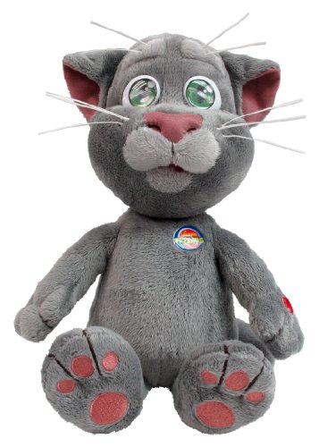 Talking Friends 12-inch Talking Tom Plush Toy with Sounds