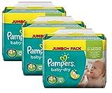 Pampers Baby Dry Größe 4+ Maxi Plus 9-20kg Jumbo Plus Pack (3 x 76 Windeln)