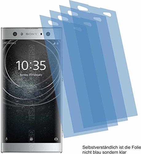 4ProTec 4X ANTIREFLEX matt Schutzfolie für Sony Xperia XA2 Ultra Bildschirmschutzfolie Displayschutzfolie Schutzhülle Bildschirmschutz Bildschirmfolie Folie