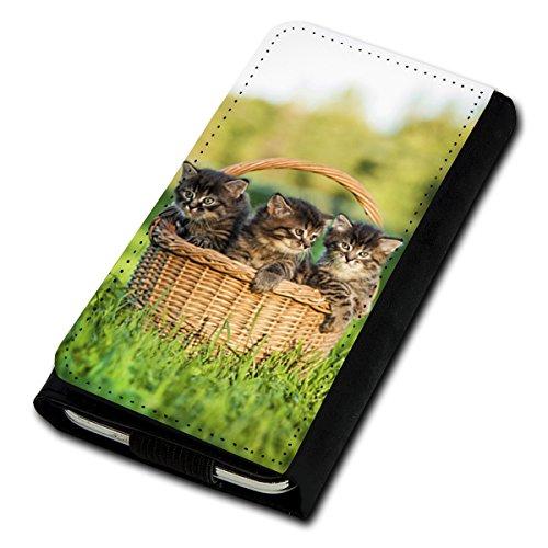 Blau 530 Handy Nokia Case Lumia (Book Style Flip Handy Tasche Case Schutz Hülle Foto Schale Motiv Etui für Nokia Lumia 530 - U5 Design11)