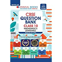 Oswaal CBSE Question Bank Class 10 Mathematics (Standard) (Reduced Syllabus) (For 2021 Exam)