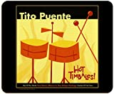 Tito Puente - Hot Timbales Album Art - Hardboard Cork Back Placemat