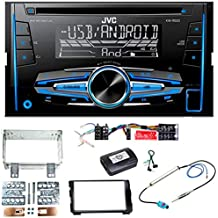 JVC MP3 USB CD 2DIN AUX Autoradio für Kia Ceed schwarz ab 12