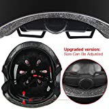 TOPFIRE Children's Scooter HoverBoard BMX Bike Helmet, Gel...