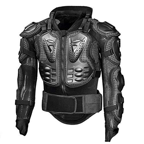 ALZHP Motocross Giacca, Moto Protezione, Spina Dorsale Protezione Professionale, per Motocross, Motociclismo, Mountain Bike, Skateboard E Snowboard,XXL