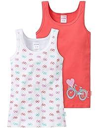 Schiesser Mädchen Unterhemd 2pack Hemd 0/0