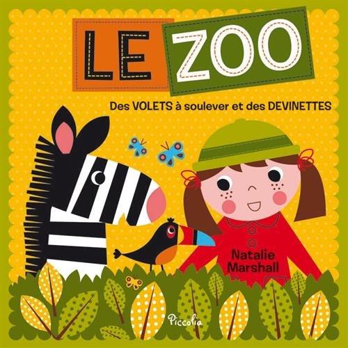 Le zoo : Des volets à soulever et des devinettes
