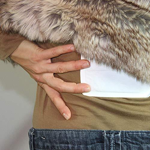 Thermopad Rücken-Wärmer | Heiz-Pad für den Rücken | 12 Stunden wohltuende Wärme von 53°C |  angenehmes Wärmekissen | einfache Anwendung, sofort einsatzbereit | 30er Pack - 5