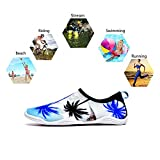 Upstartech Barefoot Water Shoes Mens Womens Quick Dry Unisex Sports Aqua Shoes Lightweight Durable Sole for Beach Pool Sand Swim Surf Yoga Water Exercise (11.5UK/46EU, Style 7)